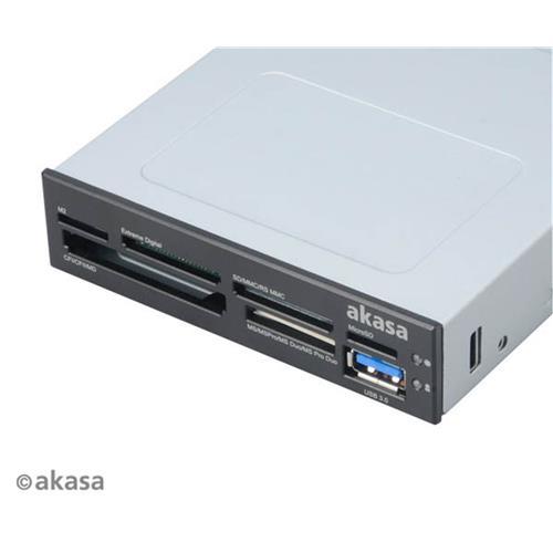 Čítačka kariet AKASA i/e USB 2.0 interná + USB 3.0 AK-ICR-07U3