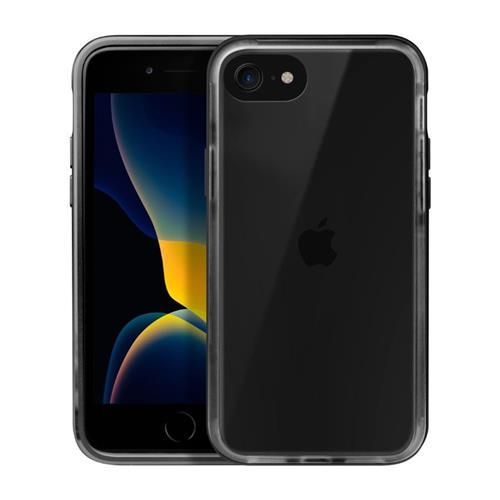 LAUT Exoframe – Case for iPhone SE 2020, 8 / 7, Black LAUT-IPSE2-EX-BK