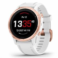 Garmin fénix 6S Pro RoseGold, White Band (MAP/Music) 42mm