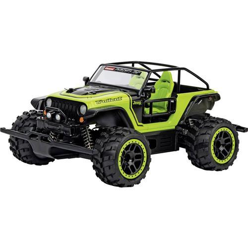RC model auta terénne vozidlo Carrera RC Jeep Trailcat -AX- 370183019, 1:18 1707321