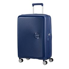 American Tourister Soundbox Spinner  Exp. 67 Navy