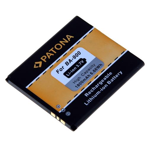 PATONA batéria pre mobilný telefón Sony BA900 1800mAh 3,7V Li-Ion PT3068