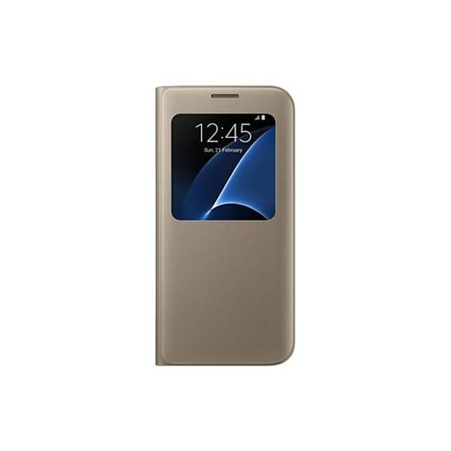 Samsung S View Cover pre S7 Edge (G935) Gold