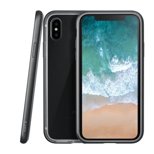 LAUT Exoframe – Case for iPhone X, Black LAUT-iP8-EXI-GM