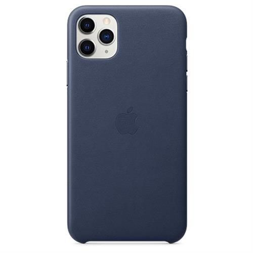 Apple iPhone 11 Pro Max Leather Case - Midnight Blue MX0G2ZM/A