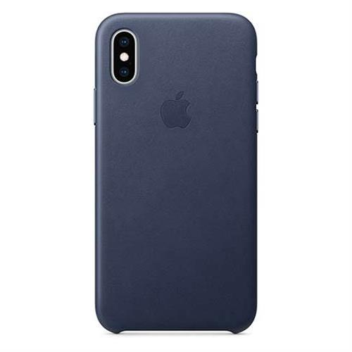 iPhone XS Leather Case - Midnight Blue MRWN2ZM/A
