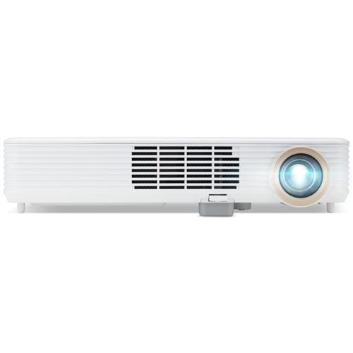 Projektor Acer DLP PD1520i - 3000Lm, FullHD, LED, HDMI, VGA, WiFi, reproduktory, biely MR.JR411.001