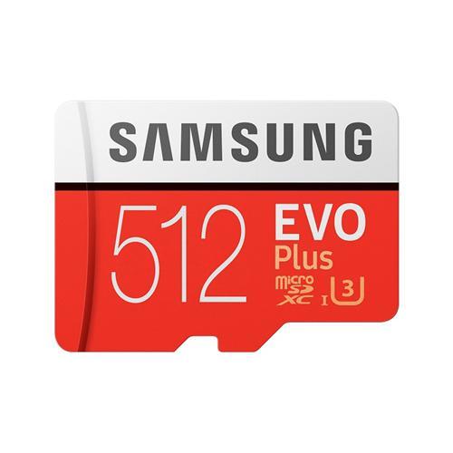 Samsung microSDXC 512GB EVO Plus (2020) + SD adaptér MB-MC512HA/EU