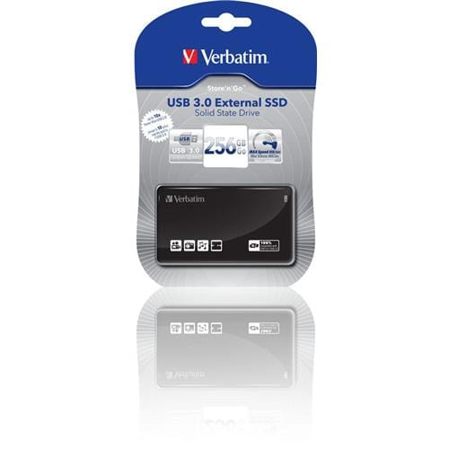 Ext. SSD Verbatim 256GB, USB 3.0