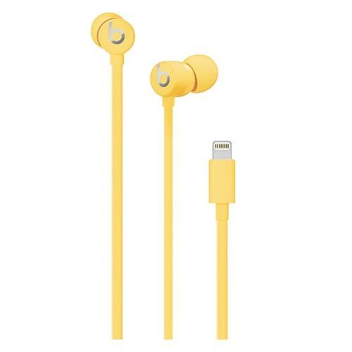 Beats urBeats3 Earphones with Lightning Connector - Yellow muhu2ee/a