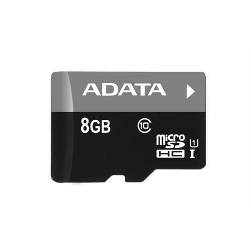 ADATA 8GB microSDHC UHS-I Premier, Class 10 + adaptér AUSDH8GUICL10-RA1