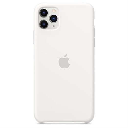 Apple iPhone 11 Pro Max Silicone Case - White MWYX2ZM/A