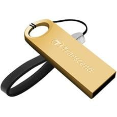 USB kľúč 32GB Transcend JetFlash 520, Gold Plating