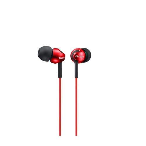 Slúchadlá SONY MDR-EX110LP do uší, Red MDREX110LPR.AE