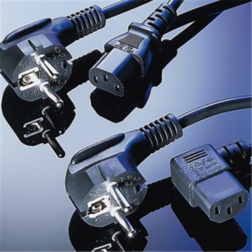 Sieťový kábel VDE 220/230V, 10m napájací PC-186-VDE-10M
