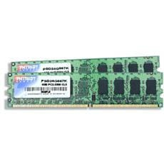 Patriot RAM DDR2 4GB (2x2GB) SL PC2-6400 800MHz CL5