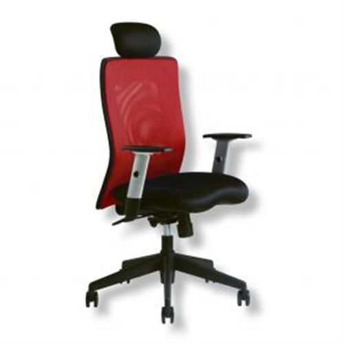 Kancelárska stolička CALYPSO XL červená OF161311