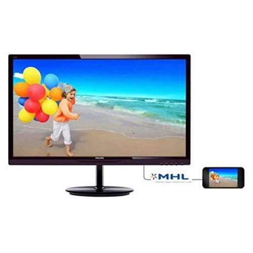 Monitor Philips 244E5QHAD/00, 23.8, LED, AH-IPS, 1920x1080, 2M:1, 5ms, 250cd, D-SUB, HDMI, repro, čierny