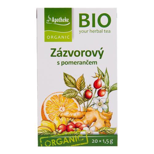 Čaj Zázvorový s pomarančom 30 g BIO MEDIATE 510102