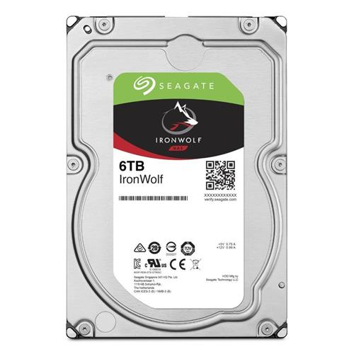 HDD 6TB Seagate IronWolf 256MB SATAIII 5400rpm NAS ST6000VN001