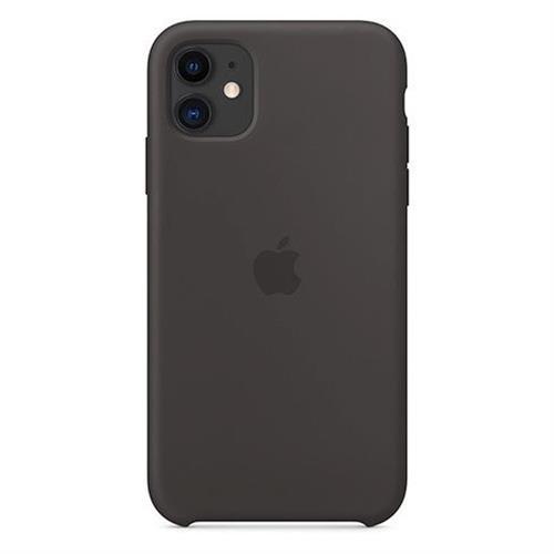 Apple iPhone 11 Silicone Case - Black MWVU2ZM/A