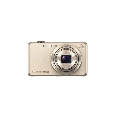 """Fotoaparát SONY DSC-WX220, 18,2Mpx, f/3.3-5.9, 10x zoom, 2.7""""LCD, zlatý DSCWX220N.CE3"""