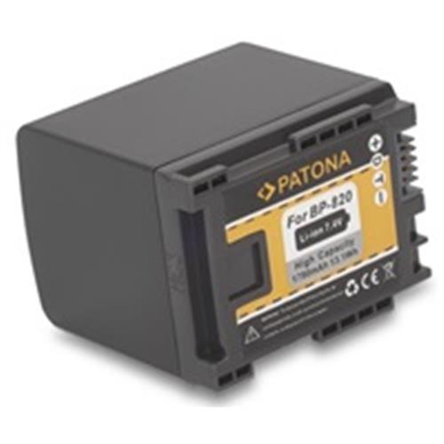 PATONA batéria pre foto Canon BP-820 1780mAh Li-Ion PT1194