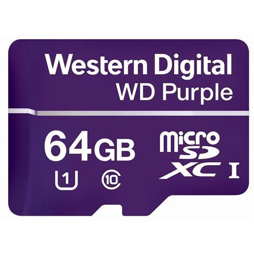 WD Purple microSDXC 64GB 80MB/s WDD064G1P0A