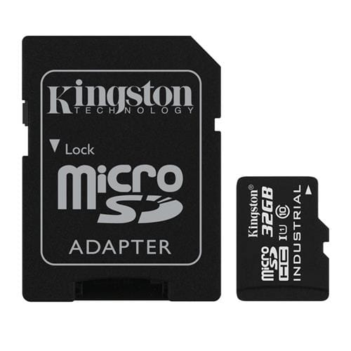 Kingston 32GB microSDHC UHS-I Industrial Temp + SD adaptér SDCIT/32GB