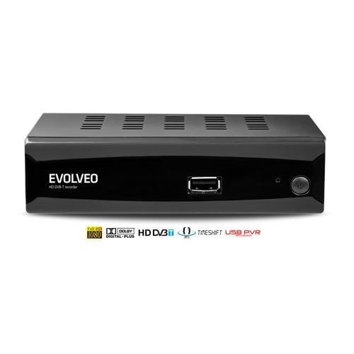 EVOLVEO Alpha HD, HD DVB-T multimediálny rekordér, HDMI, Scart, USB, MKV/MOV/MPEG/MP3/WMA/JPEG DT-3050HD