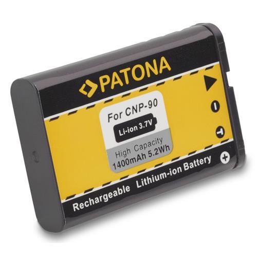 PATONA batéria pre foto Casio NP-90 1400mAh PT1076