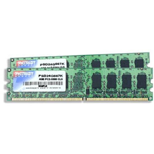 Patriot RAM DDR2 4GB (2x2GB) SL PC2-6400 800MHz CL5 PSD24G800K
