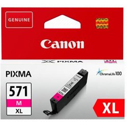 Kazeta CANON CLI-571M XL magenta MG 5750/5751/6850/6851/7750/7751 0333C001