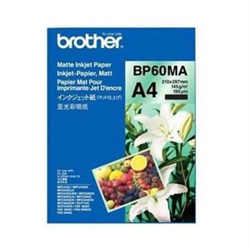 Papier BROTHER BP60 matný A4/26ks BP60MA