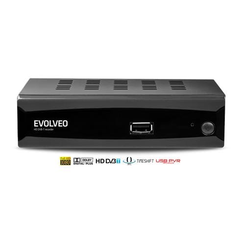 EVOLVEO Alpha HD, HD DVB-T multimediálny rekordér, HDMI, Scart, USB, MKV/MOV/MPEG/MP3/WMA/JPEG