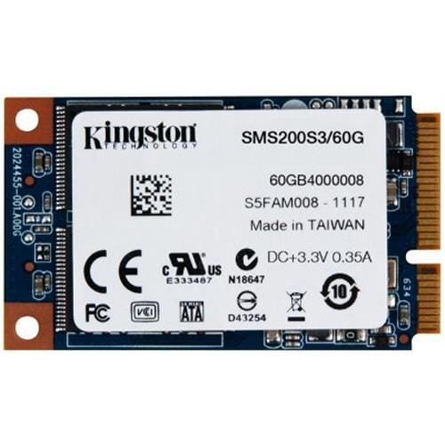 SSD Kingston SSDNow 60GB mSATA 3 (6Gbps)