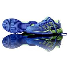 SALMING Viper 3 Kid Laces Royal/GeckoGreen 2 UK, 34 EUR