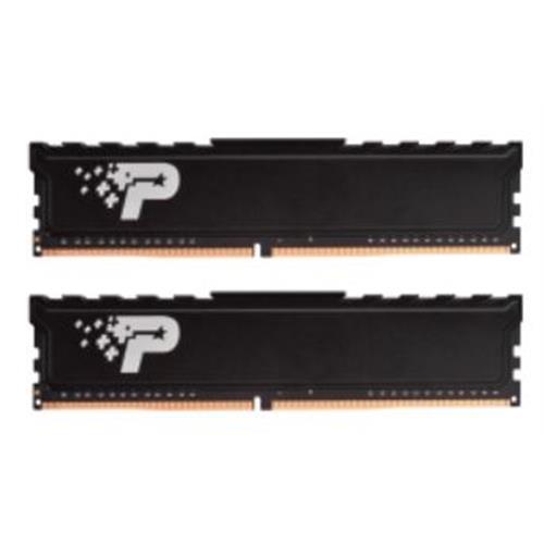 8GB DDR4-2400MHz Patriot CL17 s chladičem, kit 2x4GB PSP48G2400KH1