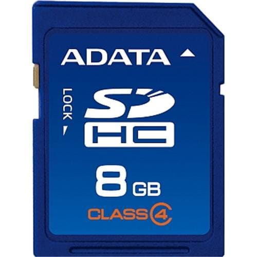 ADATA 8GB SDHC karta Class 4 ASDH8GCL4-R