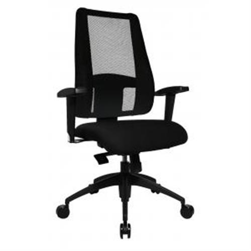 Kancelárska stolička LADY SITNESS DELUXE čierna TS200500