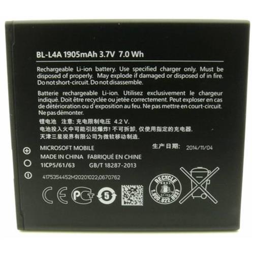 Nokia batéria BL-L4A 1905mAh Li-Ion (Bulk) 8592118802598