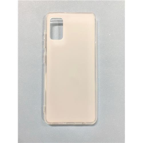 Kisswill TPU Puzdro pre Samsung Galaxy A41 Transparent - Biele 8596311108280