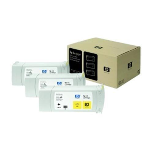 Kazeta HP HPC5075A Multipack No. 83 UV 3-Ink, yellow pro DeskJet 5000xx