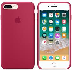 Apple iPhone 8 Plus / 7 Plus Silicone Case - Rose Red