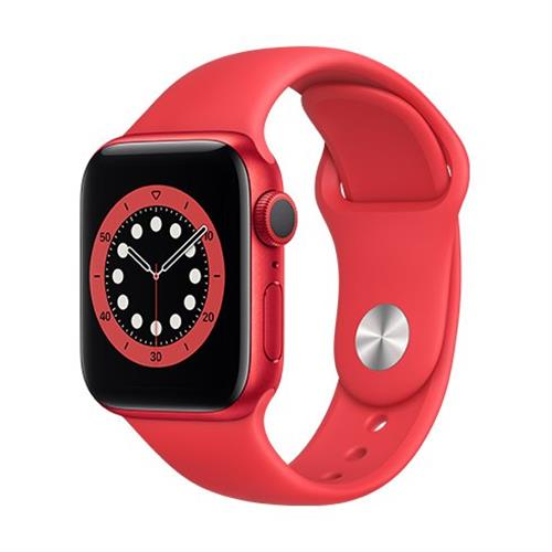 Apple Watch Series 6 GPS, 40mm PRODUCT(RED) Aluminium Case with PRODUCT(RED) Sport Band - Regular M00A3VR/A