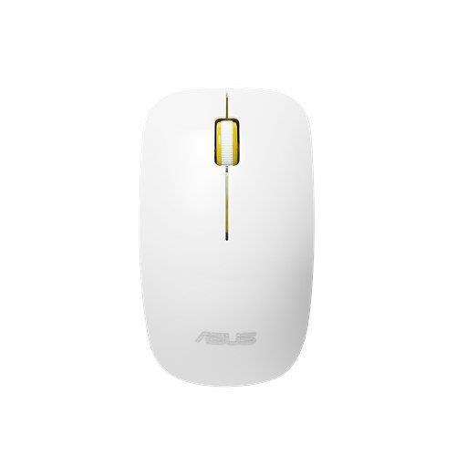 ASUS MOUSE WT300 Wireless - optická bezdrôtová myš; bielo-žltá 90XB0450-BMU030