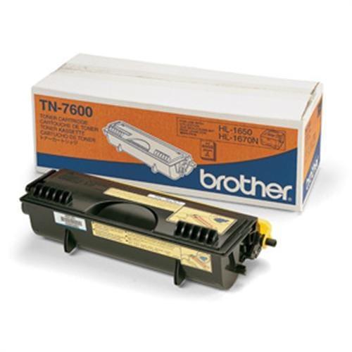 Toner BROTHER TN-7600 HL-1650/1670N/1850/1870 TN7600YJ1