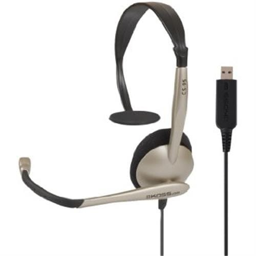 Headset KOSS CS95, USB