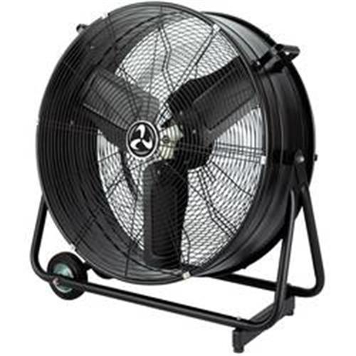Priemyselný podlahový ventilátor CasaFan DF600 Eco, 123 W, (Ø x v) 76 cm x 78 cm, čierna (matná) 1194754