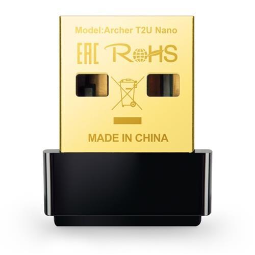 TP-Link Archer T2U Nano AC600 Wifi Dual Band USB Adapter